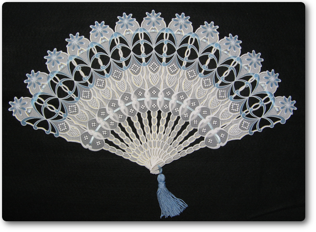 29/lage Blue Fan/Parchment Craft new dimension