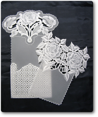 20/Rose card & Envelope/Papel Vegetal No6